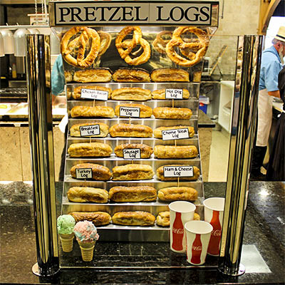 Pretzel & Log House