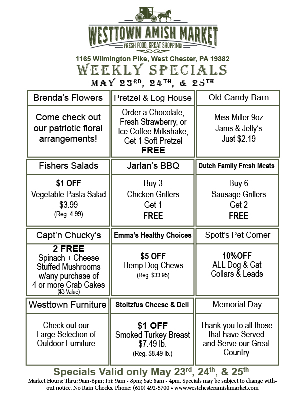 t Weekly Specials May 23 2019
