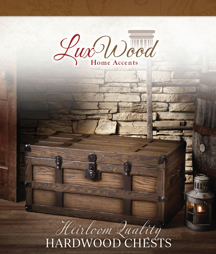 lux wood heirloom quality hardwood chests Westtown amish furniture