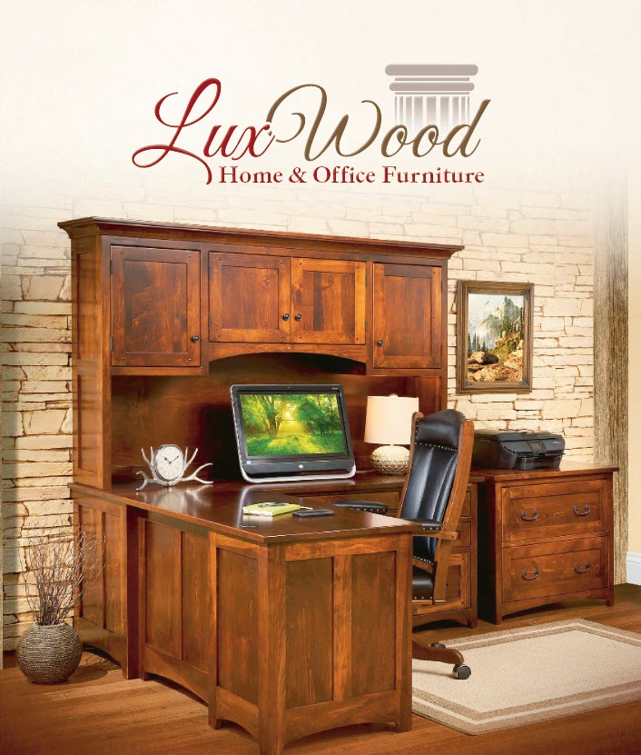 lux wood home & office furniture Westtown Amish Furniture